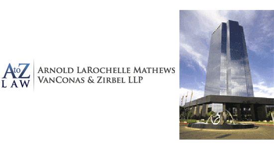 Arnold LaRochelle Mathews VanConas & Zirbel LLP Serving Ventura County 21st Floor of the Topa Tower